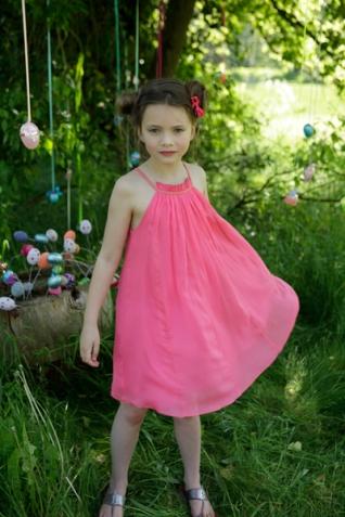 Harliquin Dress, Pink, 531