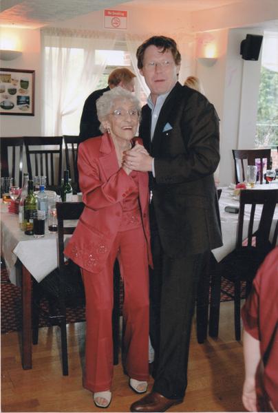 eilleen on her 80th birthday