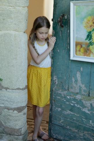 Beach Dress, yellow, 266